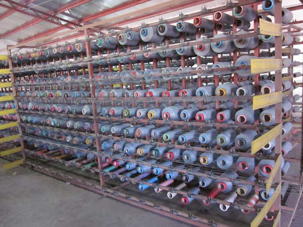 Fiberglass Screen Warp Beaming Machine