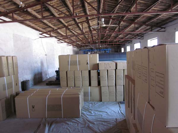 Grey Fiberglass Screen Mesh Carton Package