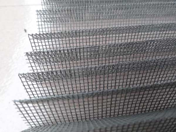 Polyester and Fiberglass Pleated Fly Screen Mesh
