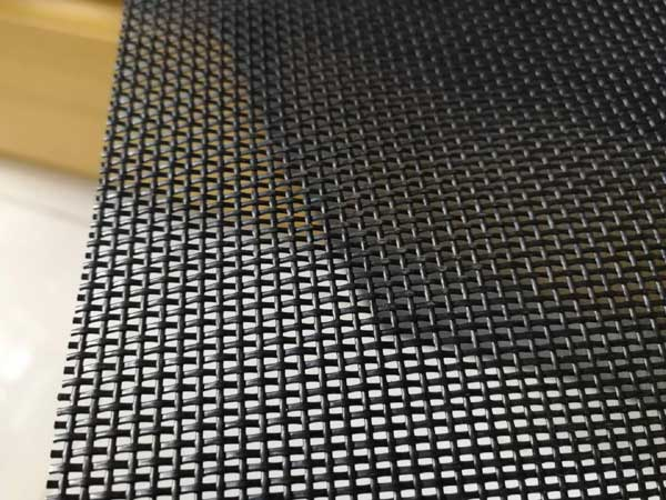 Pet Screen Mesh Is Made From Heavy Duty Vinyl Coated