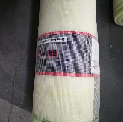 Ivory color Fiberglass Window Screen mesh factory