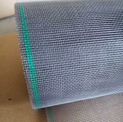 White/grey color Fiberglass fly screen mesh