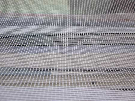 Transparent Fiberglass Window Screen Mesh