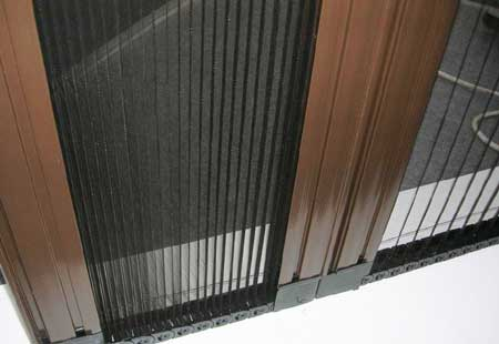 Polyester and Fiberglass Plisse Screen Mesh